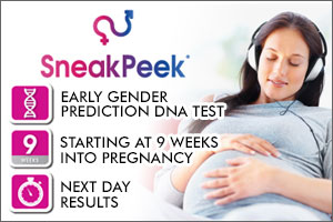 sneak peeek dna blood test