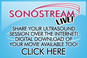 share your ultrasound session with friends and family over the web with sonostream live
